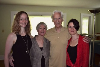 ATCU Graduating Class of Spring 2014, Left to Right: Karen Sanders, Joan Murray, Alex Murray, Anna LeGrand